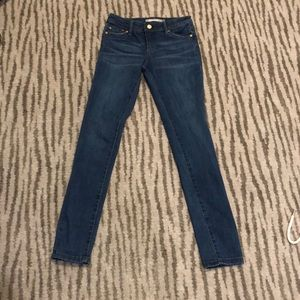 TRACTR GIRLS BASIC LOW RISE SKINNY JEANS